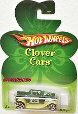 HOT WHEELS 2007 CLOVER CARS  HOOLIGAN GREEN