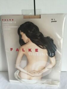 Falke Shelina 12  tights Powder colour Ultra Transparent New in pack  Large (IV)