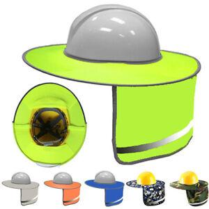 Sonne Schattierung Sicherheit Hut for Working Leicht Schutz Robust Hals Shield