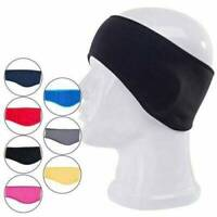Men Women Stylish Winter Fleece Earband Stretchy Headband Earmuffs Ear Warmers