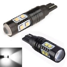2Pcs Set 50W 921 912 T10 LED 6000K 10SMD White Backup Reverse Lights Bulb New