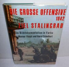 BOOK Die Grosse Offensive 1942 Ziel Stalingrad German Color Battle Photos op '72