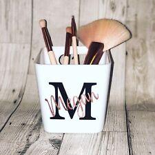 Personalised Make Up Brush Storage Pot Box (make Up Brushes Not Included)