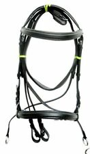 English Leather Crossover Cross Bitless Bridle Comfortable For Horse Reins