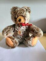 HERMANN Jointed Mohair TEDDY BEAR Orig. Tags, W. Germany