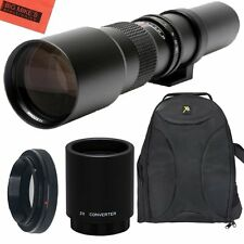 500mm 1000mm f/8 Lens + BackPack for Canon Rebel T2i, T3, T3i, T4i, T5, T5i