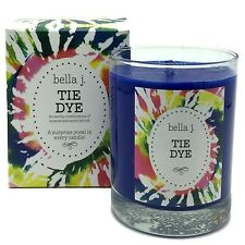 Bella J Tie Dye Scented Candle with Surprise Jewel