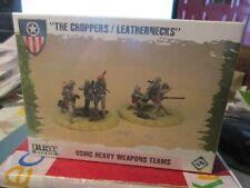 "Dust Tactics USMC Heavy Weapons Teams ""The Choppers/Leathernecks"""