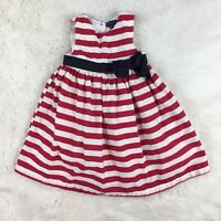 PUMPKIN PATCH Baby Girls 4th of July Sleeveless Party Dress Size 12-18 Months
