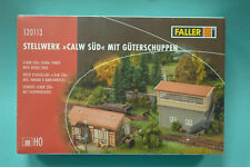 Faller 120113 Railway Control Tower Calw South with Goods Shed Kit HO 1:87 NEW