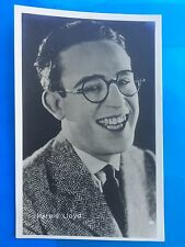 Harold Lloyd ATTORE ACTOR CINEMA MOVIE STAR. 5/5