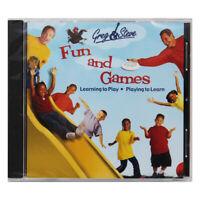 GREG STEVE PRODUCTIONS GREG & STEVE FUN AND GAMES CD