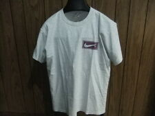 vintage Nike shirt gray tag 90s late 80s Authentic Nike Brand globe Swoosh large