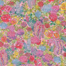 Moda Fabric - Regent Street - Bleeding Hearts - Blush - Cotton Lawn