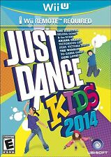 Just Dance Kids 2014 (Nintendo Wii U, 2013) *Just Disc/In Case*