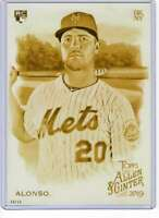 Pete Alonso 2019 Allen and Ginter 5x7 Gold #182 /10 Mets