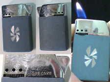 Briquet Ancien @ SIM laque Art Déco @ Vintage Gas Lighter Feuerzeug Accendino