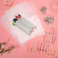 Heat Shrink Sheet Color Pencils Key Chains Clasp Lanyard Strap Mobile Straps