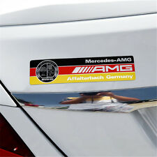 High Quality AMG Badge Decal Emblem Adhesive Sticker For Mercedes (US Stock)
