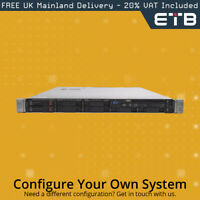 """HP Proliant DL360 G9 1x8 2.5"""" Hard Drives - Build Your Own Server"""