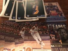 JULIUS RANDLE RESALE / ROOKIE INVESTMENT LOT (100) CARDS X25 2014-15 HOOPS RC