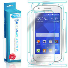 2x iLLumi AquaShield Front Screen + Back Protector for Samsung Galaxy Ace Style
