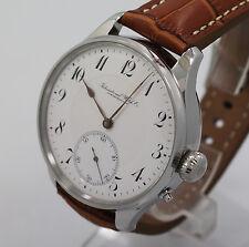 1909 IWC International Watch Co Schaffhausen pocket watch 16 j movement Cal53H6