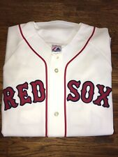 Boston Red Sox #33 Majestic Cool Base Sewn Jersey size Large