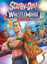 Scooby-Doo Wrestlemania Mystery (DVD, 2014) Brand New