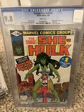 Savage She-Hulk #1 CGC 9.8  - White Pages - 1st Appearance of She-Hulk - Marvel