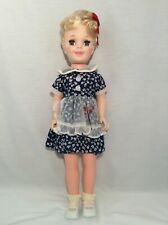 Vintage Miss Sunbeam 18 inch Doll 1970s? Sleepy eyes, eegee, Nice condition