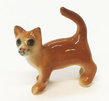 Miniature Cat Little Dot Cute Figurine Collectibles Ceramic Dolls Decor Handmade