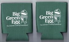 Pair of Big Green Egg Koozies by Crown Products, Like New
