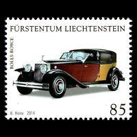 """Liechtenstein 2014 - Collections in Liechtenstein """"Saloon Cars"""" - MNH"""