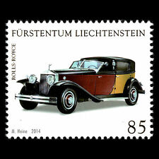 "Liechtenstein 2014 - Collections in Liechtenstein ""Saloon Cars"" - MNH"