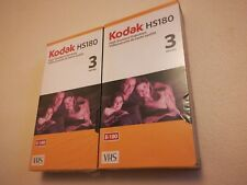 Kodak hs180 vhs tapes sealed 2 avalible