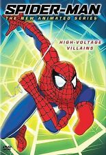 Spider-Man: The New Animated Series - High Voltage Villains DVD New Sealed