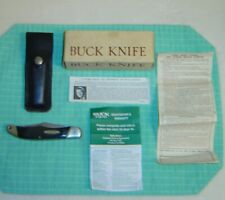 Vintage Buck 2 Blade Trail Blazer Pocketknife Model 317 New In Box With Papers
