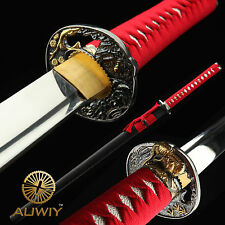 Ninja Sword, Handmade Japanese Sword Samurai Katana 1060 High Carbon Steel
