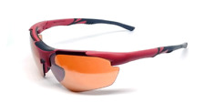 Maxx 2 HD Sunglasses red black golf driving lens brown high definition LT