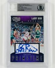 LARRY BIRD Autograph Signed GALA Celtics Jersey Auto card # /40 ~BAS Beckett BGS