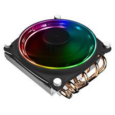 RGB CPU Fan Heat Sinks 120mm Intel AMD LED Cooler Desktop Computer Case Radiator