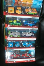 DISNEY PIXAR CARS- LOT OF 5 DIFFERENT 2 PACKS, EACH UNOPENED, FROM MATTEL