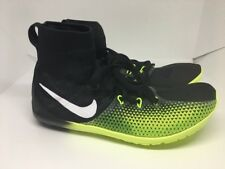 Men's Nike Zoom Victory Waffle 4 XC Racing Shoes Black Volt Size 6.5 878803 017