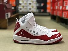 on sale e566e f1ec6 Nike Air Jordan SC-3 Mens Basketball Shoe Red White 629877-116 NEW