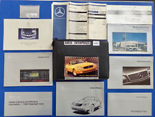 1999 Mercedes R170 SLK SLK230 Kompressor Owner Manuals Operator Books Pack S191