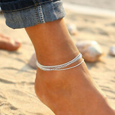 Women Girl Charm Anklet Ankle Bracelet Chain Beach Foot Wear Jewelry Ornaments