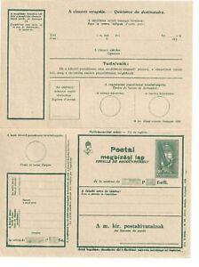HUNGARY POSTAL STATIONERY BIRDS CLASSIC DOCUMENT BIRD (1272)