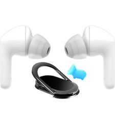 Lg Tone Free Hbs-Fn6 True Wireless Bluetooth Earbuds White with Accessory Kit
