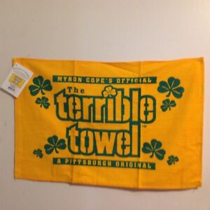 Terrible towel St. Patrick's Day